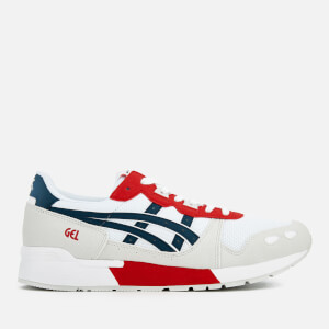 Asics Lifestyle Men's Gel-Lyte Trainers - White/Dark Ocean