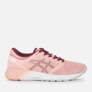 Asics Running Women's Roadhawk FF2 Trainers - Frosted Rose/Cordovan