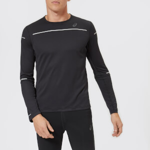 Asics Men's Lite-Show Long Sleeve Top - Performance Black