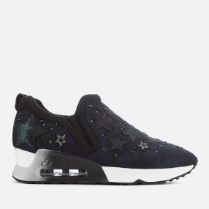Ash Women's Lifting Star Trainers - Black/Midnight