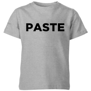 Paste Kids' T-Shirt - Grey