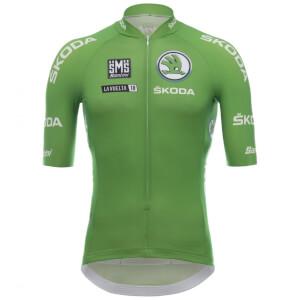 Santini La Vuelta 2018 Sprinter Jersey - Green