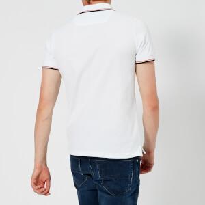 Diesel Men's Randy Broken Polo Shirt - White: Image 2