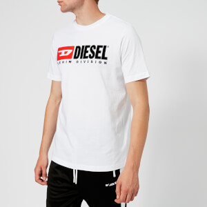 Diesel Men's Just Division T-Shirt - White