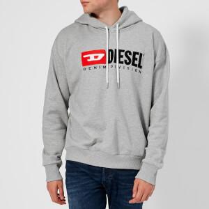Diesel Men's Division Overhead Hoody - Grey