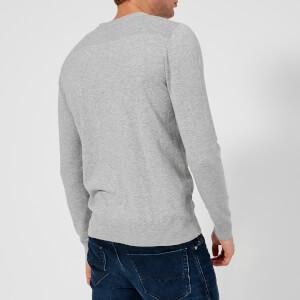 Diesel Men's Over Crew Neck Knitted Jumper - Grey: Image 2