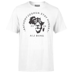 Anthony Joshua Stay Hungry Men's T-Shirt - White
