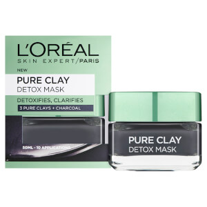 L'Oréal Paris Pure Clay Detox Face Mask -kasvonaamio 50ml