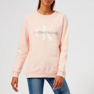 Calvin Klein Jeans Women's Monogram Logo Sweatshirt - Chintz Rose