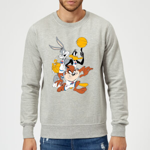 Space Jam Group Shot Sweatshirt - Grey