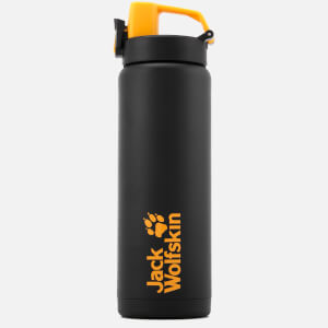 Jack Wolfskin Water Bottle - Black/Yellow (Free Gift)