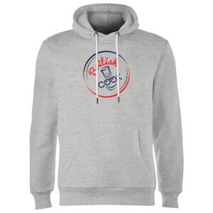 British Cook Circle Logo Hoodie - Grey