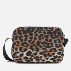 Ganni Women's Fairmont Cross Body Bag - Leopard