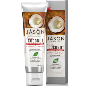 JASON Whitening Coconut Cream Toothpaste 119 g