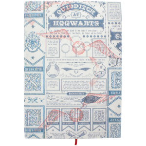 Harry Potter Quidditch Notebook from I Want One Of Those