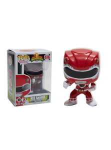 Power Rangers Red Ranger Metallic EXC Pop! Vinyl Figure