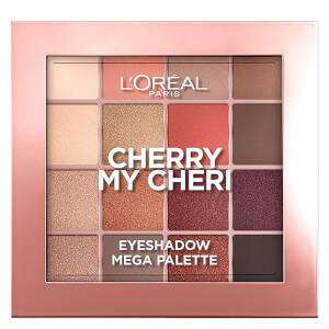 L'Oreal Paris Paradise Pastel Eyeshadow Palette - Cherry My Cheri