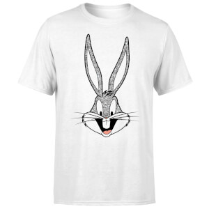 T-Shirt Homme Bugs Bunny Looney Tunes - Blanc