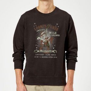Sudadera Looney Tunes Coyote Live Tour - Hombre - Negro