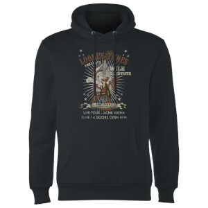 Sweat à Capuche Homme Wile E Coyote Guitar Arena Tour Looney Tunes - Noir