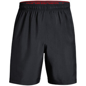 Under Armour Men's Woven Graphic Shorts - Black/Steel