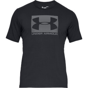 Under Armour Men's Boxed Sportstyle Shorts Sleeve T-Shirt - Steel Light Heather