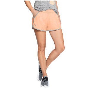 Under Armour Women's Tech Shorts - Orange
