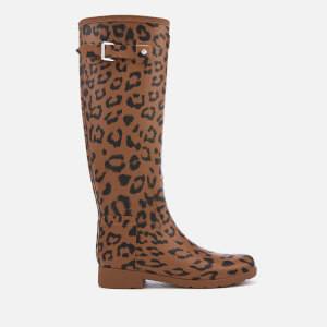 Hunter Women's Original Refined Hybrid Print Tall Wellies - Thicket