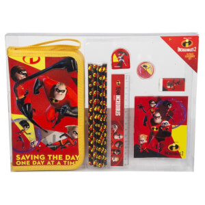 Incredibles 10 Pcs Stationery Set