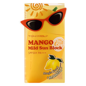 TONYMOLY Magic Food Mild Mango Sun Block SPF 50+ Pa+++