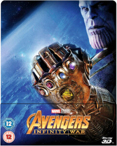 Avengers: Infinity War 3D (Includes 2D Version) - Zavvi Exclusive Limited Edition Steelbook