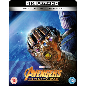 Avengers: Infinity War 4K Ultra HD (Includes 2D Version) - Zavvi UK Exclusive Limited Edition Steelbook