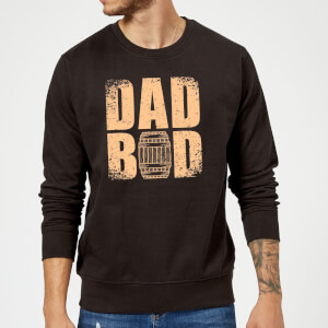 Dad Bod Sweatshirt - Black