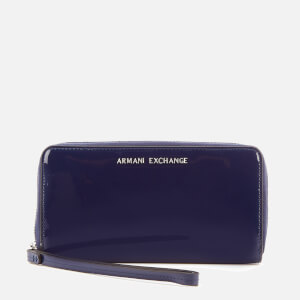 Armani Exchange Women's Wristlet Purse - Navy