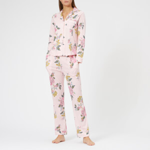 Joules Women's Astrid Jersey PJ Set - Pink Stripe Chinoise