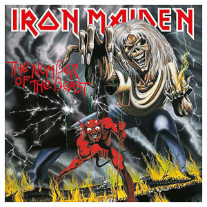 Iron Maiden - Number Of The Beast - Vinyl