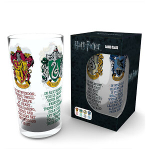 Harry Potter House Crests Large Glasses