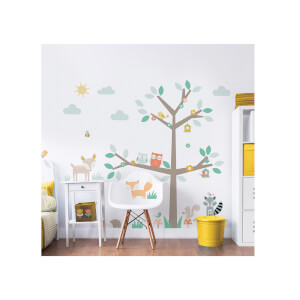 Walltastic Woodland Tree & Friends Large Character Sticker