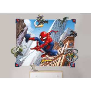 Décoration Murale Spider-Man 3D - Walltastic