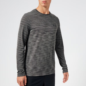 Under Armour Men's Vanish Seamless Long Sleeve Top - Charcoal