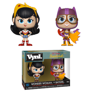 Vynl. Wonder Woman & Batgirl