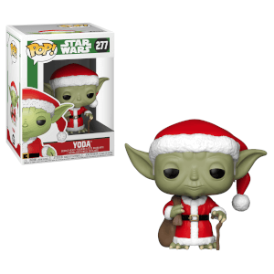 Star Wars Holiday - Santa Yoda Funko Pop! Figuur