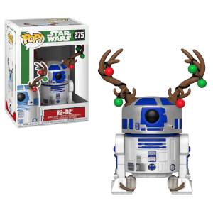 Figura Funko Pop! R2D2 (con corna da renna) - Star Wars Holiday