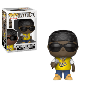 Figurine Pop! Rocks Notorious B.I.G Avec Jersey Jaune