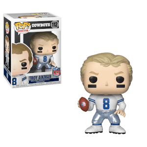 Figurine Pop! Légendes NFL Troy Aikman