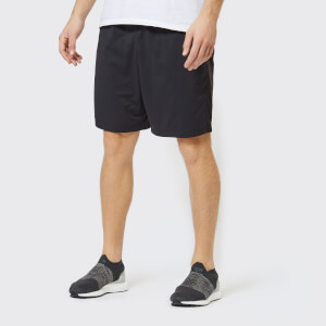 Under Armour Men's Mk1 Inset Graphic Shorts - Black/Charcoal