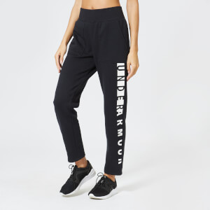 Under Armour Women's Rival Fleece Pants - Black