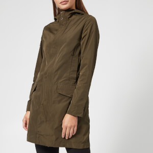Superdry Women's Premium Arc Parka - Field Khaki
