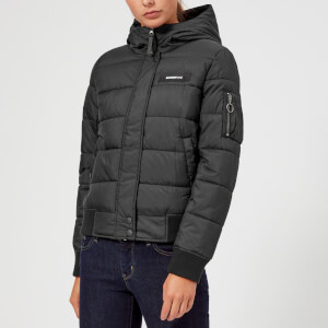 Superdry Women's Gravity Padded Jacket - Black