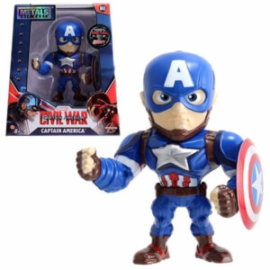 "Jada Metal Diecast 4"" Figure Marvel - Captain America"